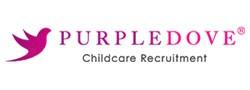 Purple Dove Childcare Recruitment logo
