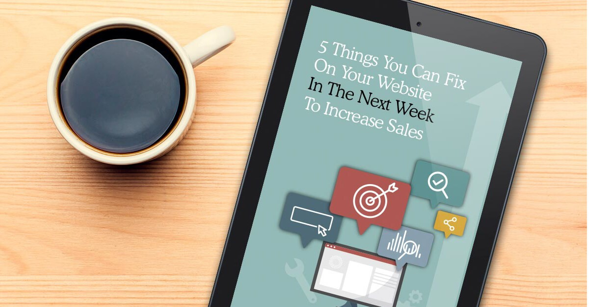 5 Things You can Fix on Your Website Right Now